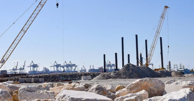 Projects Infrastructure Southern Port Ashdod