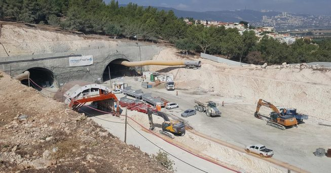 Route 6 (Trans Israel HIghway) northern extension project
